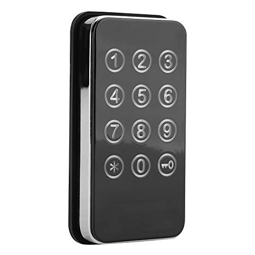Digit Code Combination Cabinet Keyless Lock, Electronic Cabinet Lock Kit for Spa Door Cabinet Tool Boxes