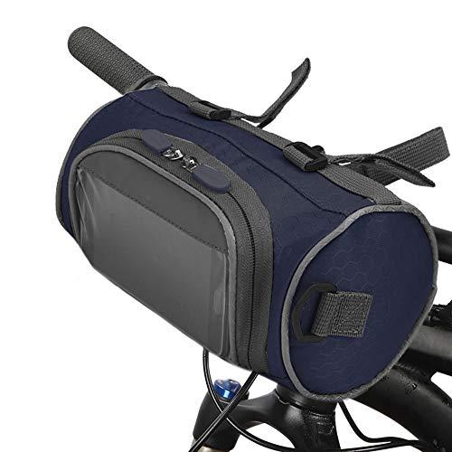 Lixada Sacoche de guidon de vélo avec écran tactile étanche - Grande capacité