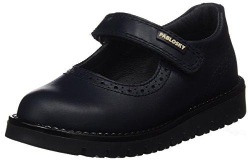 Pablosky 320820, Zapatos Mary Jane Niñas, Azul Oscuro, 27 EU
