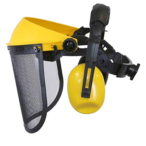 Visière protection + oreillettes anti-bruit - Pièce neuve