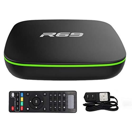 TV BOX R69 64GB / Memória RAM 8GB / 8K Ultra HD / 5D