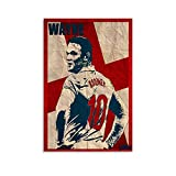Wayne Rooney Poster, dekoratives Gemälde, Leinwand,