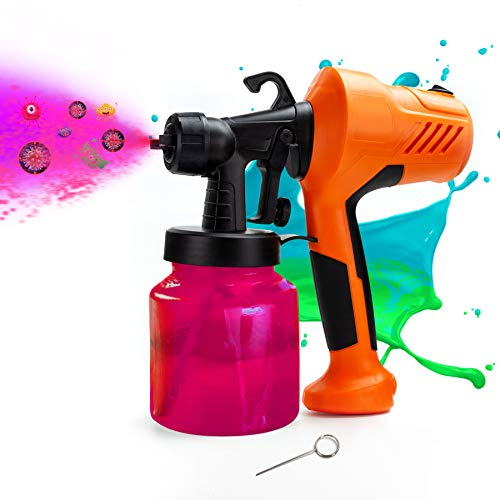 TAISHAN Disinfectant Steam Gun, 400W HVLP Paint Spray Gun, 650ml Detachable Container, Nano Atomizer Easy to Clean, Flow Control, Convenient for Home, Office, School or Garden Spray Painting Projects