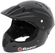 Razor Full Face Youth Helmet, Black