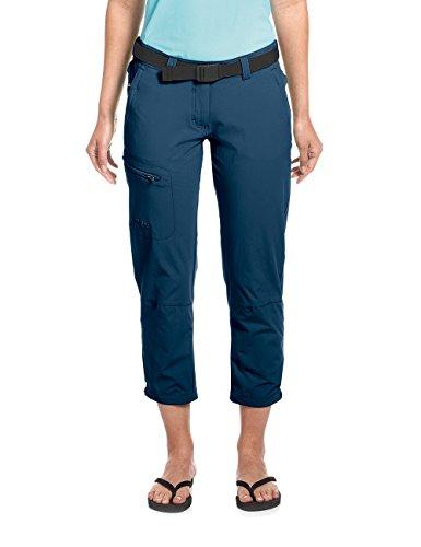 Maier Sports Lulaka 7/8 Wandelbroek, voor dames, van 90% polyamide 10% EL, in 9 maten, outdoorbroek/functionele broek incl. riem, bi-elastisch, sneldrogend en waterafstotend