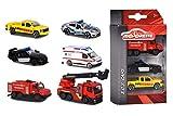 Majorette 212057261 Mezzi di emergenza set di 3, Modelli assortiti, 1 Confezione