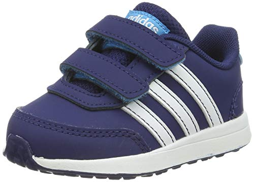 adidas Vs Switch 2 Cmf Inf, Pantofole Unisex-Bambini, Multicolore (Azuosc/Ftwbla/Ciasho 000), 20 EU