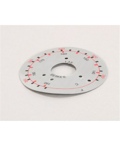 Frymaster 8021470 Dial Plate 135 Series Label