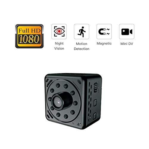 Cámara wifi mini Spy visión nocturna y detección de movimiento, hogar seguridad COP Cam lente de visión más amplia, cámara oculta 1080P HD Loop Video Recording interior y exterior uso ,32G