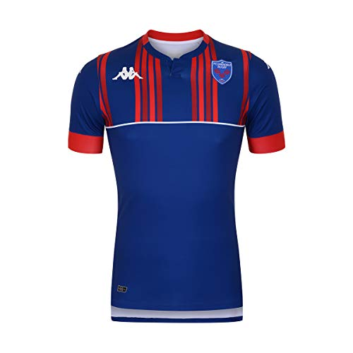 Kappa - T-Shirt Kombat Home FC Grenoble Rugby - Man - M - Bleu