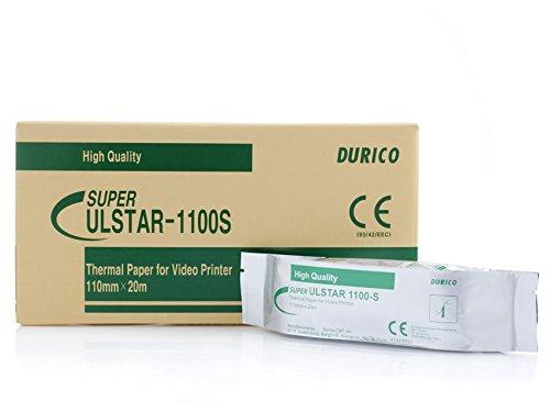 Carta Videostampante Durico Compatibile per Sony Upp-110S, Confezione da 5 rotoli