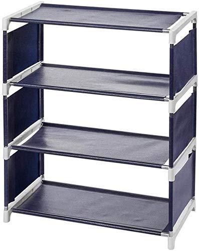 CZYNB Structure de Chaussures de Meubles ZXL, 4 Couches empilables Non tissées de Chaussures à Chaussures à Chaussures à Chaussures à Chaussures d'armoires d'armoires d'armoires 45.5 * 25.5 * 55cm