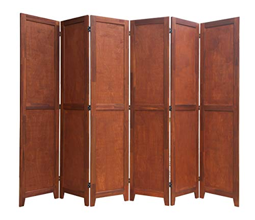 Review Of Urnporium 6 Panel Wooden Room Divider Partition Privacy Screen 2 Way Hinges