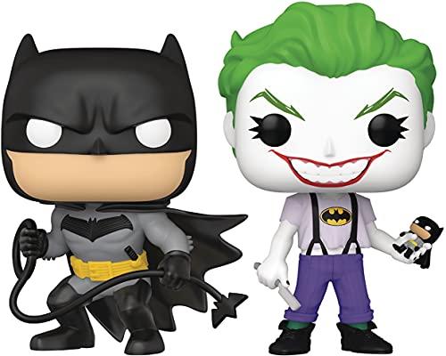 San Diego Comic-Con 2021 Exclusive Pop! DC Heroes: Batman White Knight: Batman & Joker Figura de...