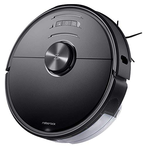 Roborock S6 MaxV Robot Vacuum Cleaner with ReactiveAI and Intelligent Mopping, No-mop Zones, Lidar Navigation, 2500Pa Strong Suction, Multi-Level Mapping, Robotic Vacuum and Mop (Renewed)