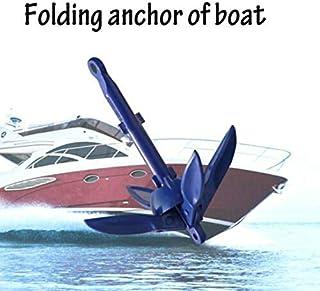 SDGDFXCHN Ancla Plegable, Kit de Anclaje de Aluminio Plegable para Canoa Kayak Bote pequeño