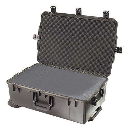 PELI Storm IM2950 Professioneller Transportkoffer für AV Broadcast Ausrüstung, Wasserdicht, 90L Volumen, Hergestellt in den USA, Mit Schaumstoffeinlage (Anpassbar), Schwarz