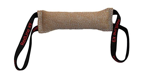 Dog Bite Tug Toy 3' X 16' 2 Handle Jute - Redline K9