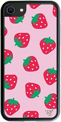 Wildflower Limited Edition Cases Compatible with iPhone 6 7 8 or SE Strawberries product image
