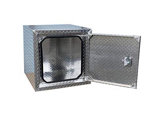 BRAIT Heavy Duty Commercial Grade Aluminum Underbody Truck Tool Box (24x24x24)