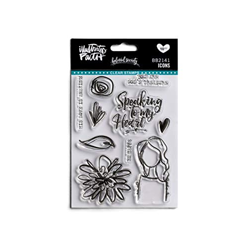 DaySpring Beloved Society-Icons-Clear Stamps