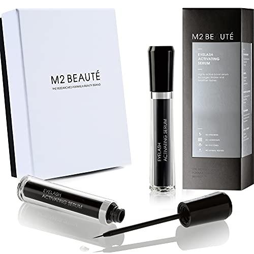 M2 BEAUTE Eyelash Activating Serum 5ML & M2Beaute Gift Box | Siero per...