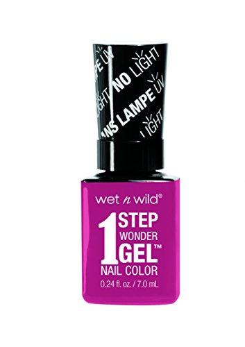 Wet n Wild – 1 Step Wonder Gel Nail Color – mit Licht-gehärteter Formel in 16 verschiedenen...