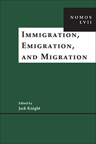 Immigration, Emigration, and Migration: NOMOS LVII (NOMOS - American Society for Political and Legal Philosophy Book 15) (English Edition)