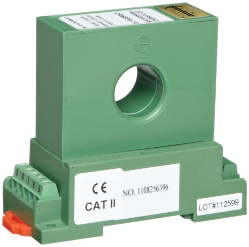 CR Magnetics CR5220-10 DC Hall Effect Current Transducer with Single Element, DC, 0 - 300 Output Load, 24 VDC +/-10%, 0-10 ADC Input Range, 4 - 20 mADC Output Range