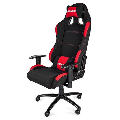 AKRacing K7012 - AK-7012-BR - Silla Gaming, Color Negro/Rojo