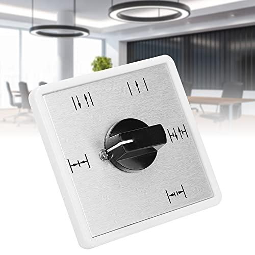 FECAMOS Interruptor de Perilla, Interruptor de Puerta de Larga Vida útil de fabricación Profesional para Todas Las Puertas automáticas para la Seguridad del hogar