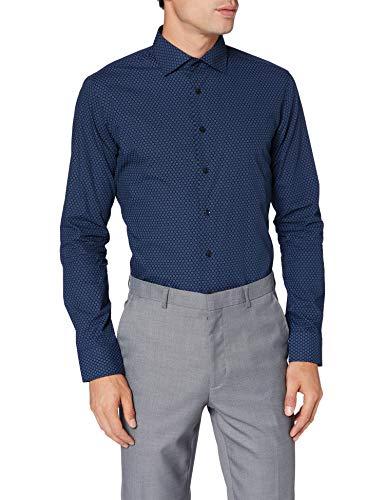 Seidensticker Herren Business Hemd - Bügelleichtes Hemd mit sehr schmalem Schnitt - X-Slim Fit - Langarm - Kent-Kragen - 100{1aa2eb48ac81d934c4f8adbad6fbdf1dd739d3089ce860b97cf2251492a7479d} Baumwolle