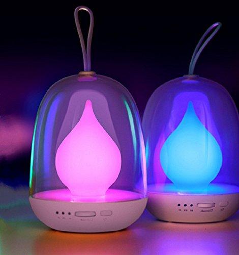 Enfant Veilleuse, Aeeque® Portable Lampe de Chevet Bureau LED Luminaire Réglable Couleur avec Recharge Via USB Intérieure Extérieure Lampe de Nuit pour Décoration Chambre Bébé - Blanc