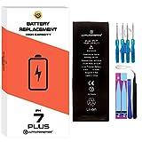 ultrapower100® batería Compatible con iPhone 7 Plus | Alta Capacidad 3410 mAh| producción 2020 0 ciclos de Recarga | Incluye Manual y Kit de Juego de Herramientas | Todos APN | Garantía de por Vida
