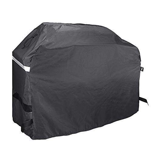 Grisun Grill Cover for Dyna-Glo DG576CC Premium Large Charcoal Grill Cover, Heavy Duty Waterproof, Fade Resistant BBQ Grill Cover (60.8in x 28.43in x 51.6in)