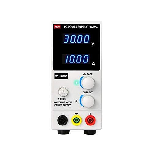 La conmutación variable Precisa MCH-K3010D ajustable Fuente de alimentación DC 30V 10A constante Voltaje constante móvil actual de reparación de teléfonos duradero (Size : Click to select 220v)