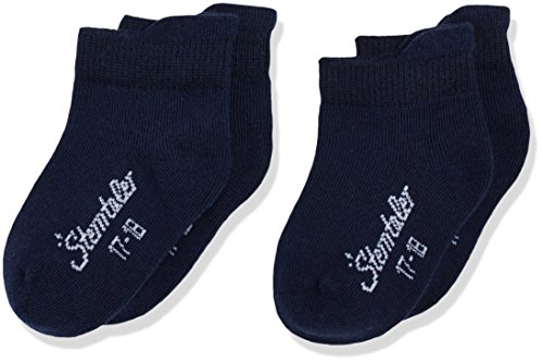 Sterntaler Sneaker-Socken Doppelpack, Alter: 18-24 Monate, Größe: 22, Dunkelblau (Marine)