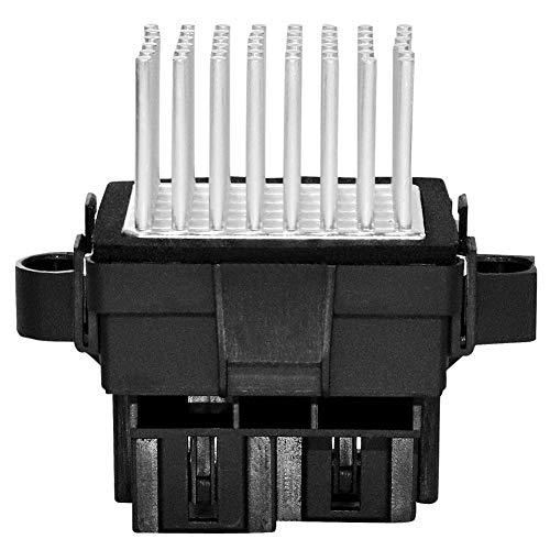 HVAC Blower Motor Resistor Control Module, Replaces 15-81638 15141283 Compatible with Cadillac GMC, Avalanche Camaro Equinox Silverado Suburban Tahoe Traverse, Acadia Sierra Terrain Yukon, More