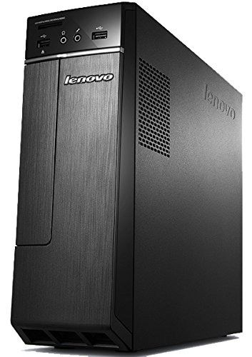Lenovo H30-00 - Ordenador de sobremesa (Intel Celeron J1800, 4 GB de RAM, Disco HDD de 500 GB, Intel HD Graphics, Windows 8.1 actualizable gratuitamente a Windows 10), Negro