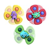 haohaiyo, giocattolo per bambini con ventosa per spinning top, giocattolo per il bagno