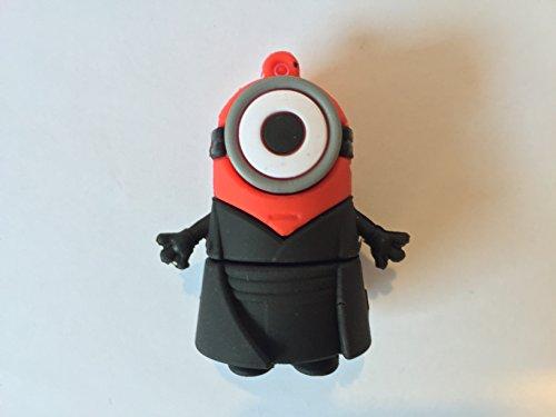 USB 16gb goma minion disfrazado antihroe Deathpool