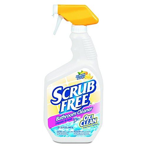 Arm & Hammer 3320000105 Scrub Free Soap Scum Remover, Lemon, 32oz Spray Bottle (Case of 8)