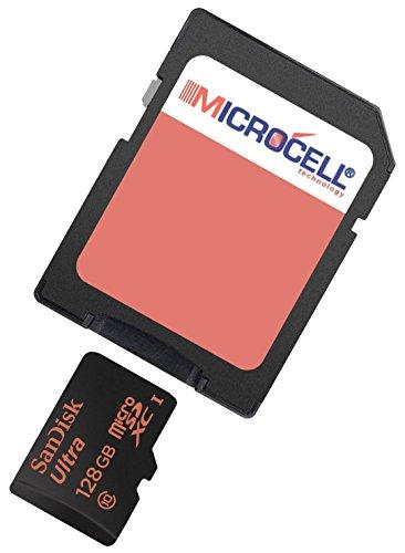 yayago Microcell SD 128GB Speicherkarte / 128 gb Micro SD Karte für HTC One M8 Dual Sim