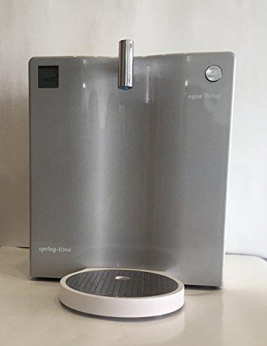 Wasserfilter Spring-time® 400 von aqua living®, Front Edelstahloptik, Umkehr-Osmose, Wasserreinigung