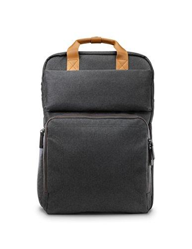 HP Laptop Rucksack (17 Zoll, für Notebooks, Laptops, Tablets, Smartphones mit Aufladefunktion) grau