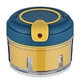 Senmubery Extractor Manual de Ajo Cortador de Ajo Multifuncional para Cocina