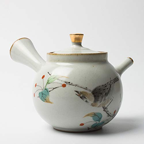 QCCOKNN Tetera de gres Kung Fu conjunto de té hervidor de café horno cerámica decoración del hogar