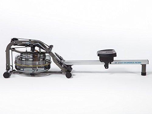 skandika SF-1750 Nemo Wasser-Rudergerät mit justierbaren Flüssigkeitswiderstand für gelenkschonendes Training und LC-Display - 3