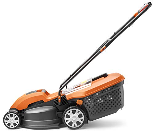 Flymo Speedi-Mo 360VC Electric Rotary Lawn Mower, 1500 W, 36 cm Cutting Width, 40 L Grass Box