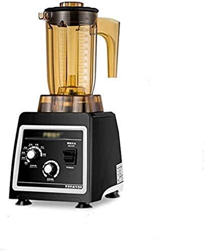 JISHIYU-S Blender Ice Blender Tritusher Blender, Blender de encimera de Alta Velocidad con Base de 1800W, Pulso Incorporado y fácil autolimpieza